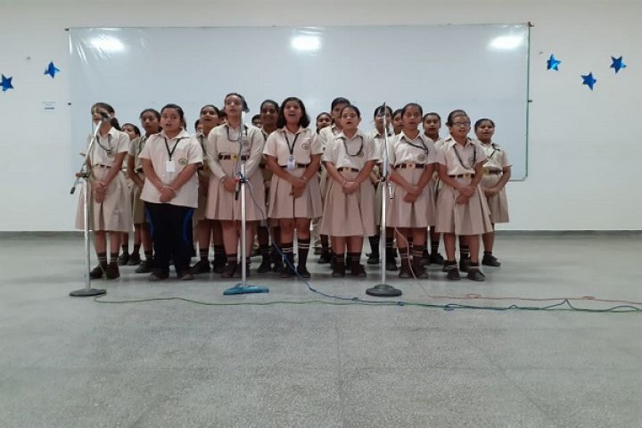 Hindi Patriotic Group Song Competition Classes VI to VIII 2019-20