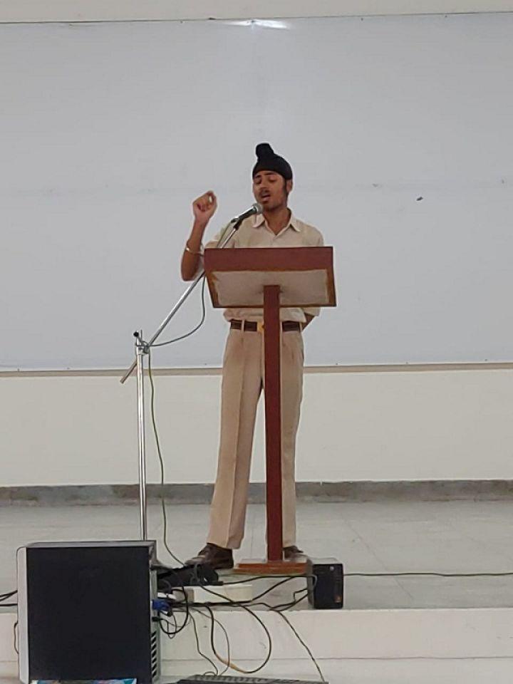 Hindi Debate class XI and XII